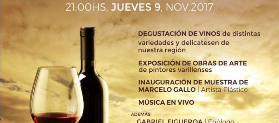 Exposición de Arte y Vinos