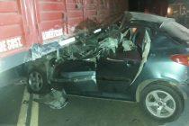 Grave accidente sobre Ruta 13, cerca de Pilar