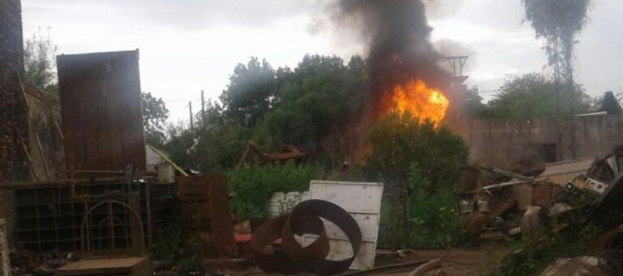 Otro incendio en una chacarita y van…