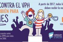Vacunan contra el HPV en escuelas primarias