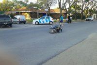 Más choques de autos contra motos. Los protagonistas del día