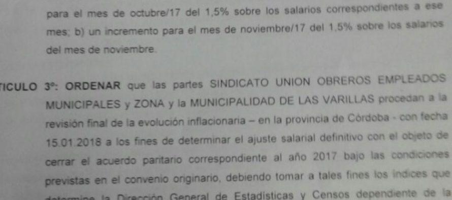 El Ministerio de Trabajo de la Provincia dictaminó sobre el diferendo entre el Municipio y el SUOEM