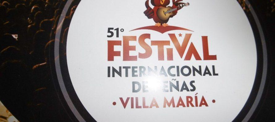 Presentación del 51° Festival Internacional de Peñas de Villa María