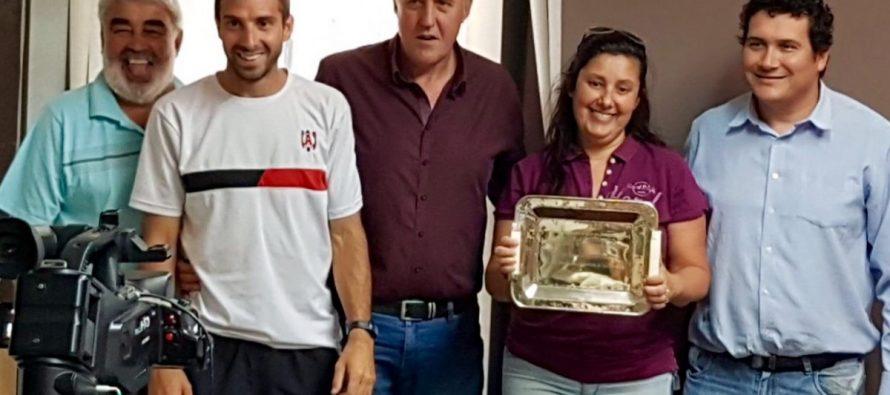 El municipio homenajeó al fútbol de Almafuerte por  el título.