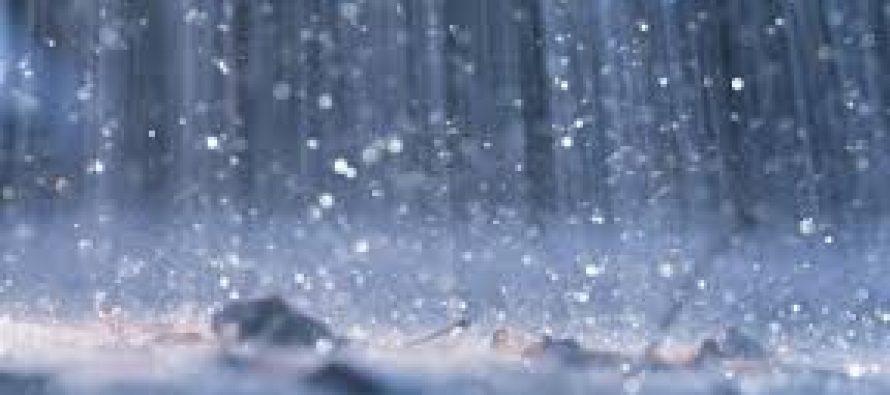El domingo llovió en toda la región