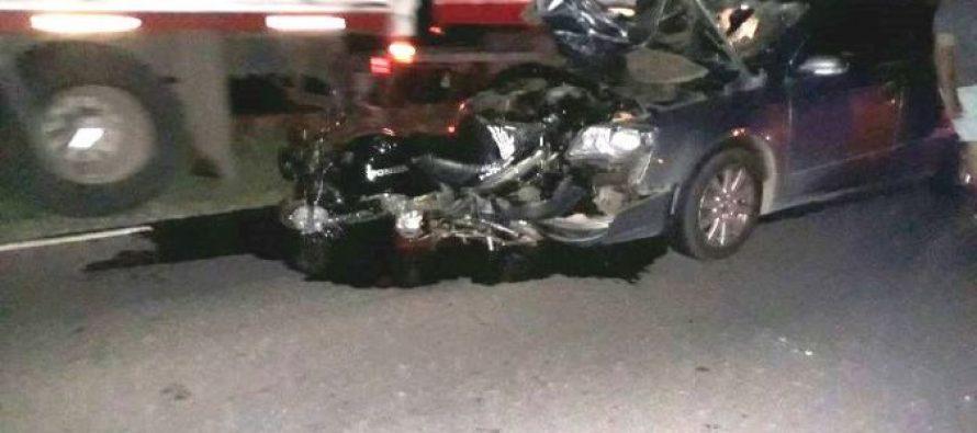 Dos muertos en un  accidente sobre Ruta 13