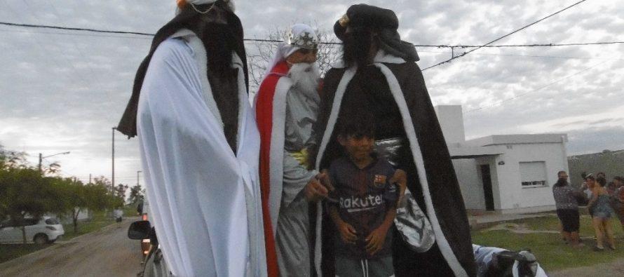 Los Reyes Magos recorrieron las calles de la ciudad. Los números ganadores