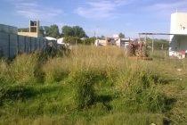 El Municipio cobró cerca de 80 multas a propietarios de terrenos que no son  desmalezados