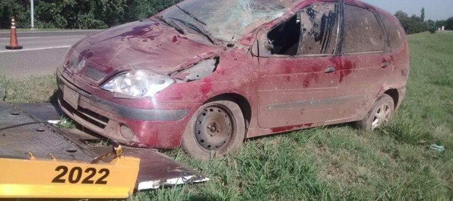 Fue anticipo de FM Identidad: se accidentó Catriel Sánchez. Sólo sufrió heridas leves