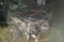 Espectacular accidente en la Ruta 13. Lesiones leves