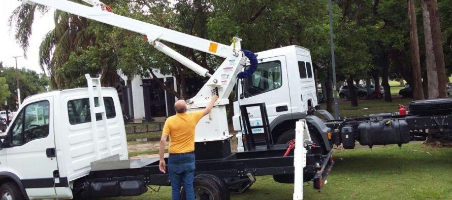 El municipio presentó nuevas maquinarias