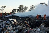 Pío Calvo pidió disculpas por los basurales, tras nuevo incendio durante el fin de semana