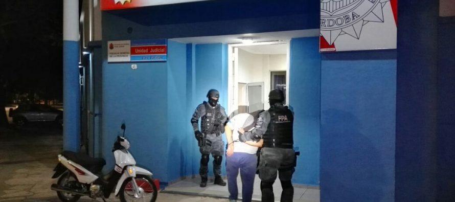 Dos detenidos en procedimiento antinarcóticos en Las Varillas