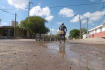 Procupante estado de la calle Independencia