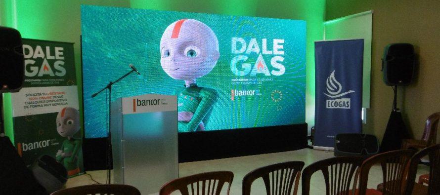 Presentaron en Las Varas línea de créditos para el gas natural