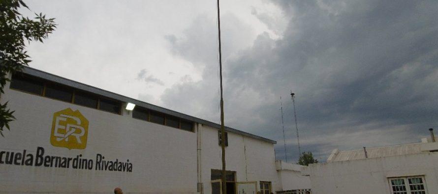 Chiocarello inauguró el período lectivo 2018 en la Escuela Rivadavia