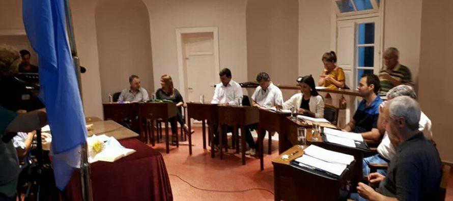 Numerosos proyectosse abordaronen la primera sesión ordinaria del Concejo Deliberante.