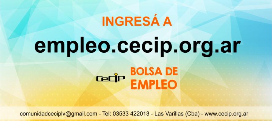 El CeCIP puso en marcha una Bolsa de Empleo Digital