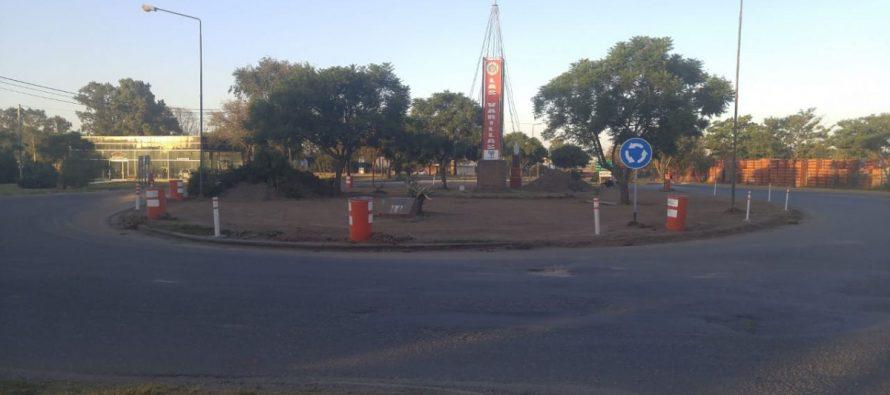 Recomiendan circular con precaución  en la zona de la Rotonda de acceso a la ciudad