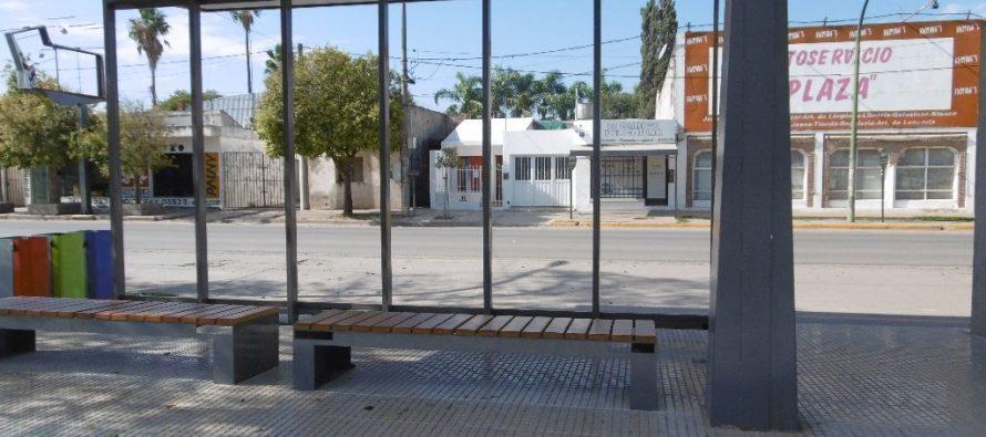 Comenzó el cerramiento de la garita de Plaza Independencia