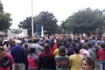 Marcha de protesta en Laspiur por el grave hecho de instancia privada