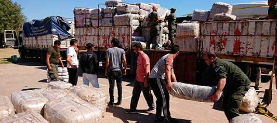 Incautaron ropa de contrabando en nuestra ciudad por $ 81 millones