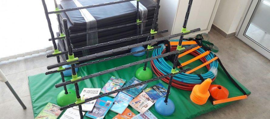 El Instituto Privado Almafuerte adquirió elementos de Educación Física para sus alumnos