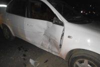 El choque más común en Las Varillas: auto contra moto