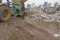 Técnicos del INTI inspeccionaron una máquina trituradora de residuos que posee la Municipalidad de Las Varillas