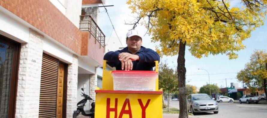 """El churrero que le gritó """"Viva Macri"""" a manifestantes contra el presidente"""
