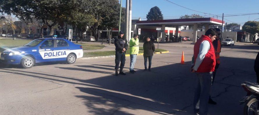 Numerosos operativos de control vehicular en Las Varillas y Laspiur