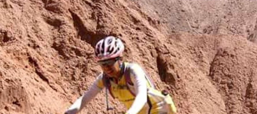 Excelente carrera de Fernanda Zarazaga en el desierto de Atacama