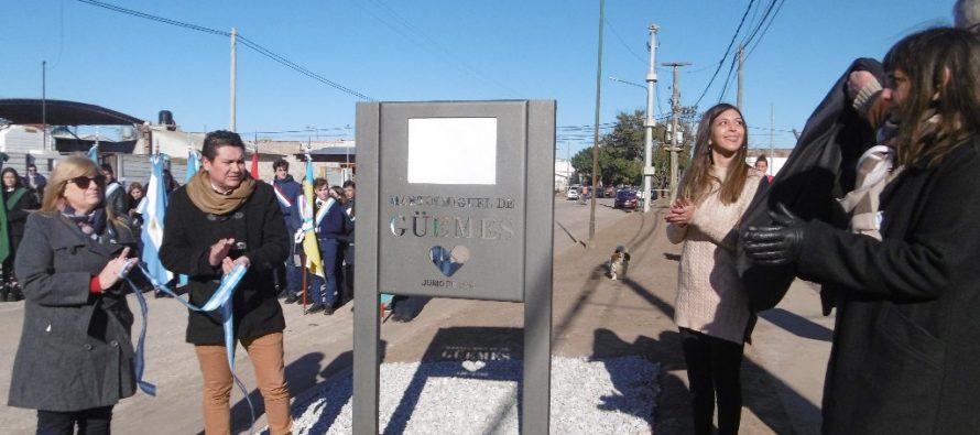 Inauguraron Monumento a Martín Güemes