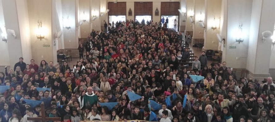 Rotundo NO al aborto legal en la Parroquia de Las Varillas