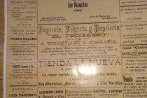 Se cumplen 100 años de la primera edición impresa en Las Varillas