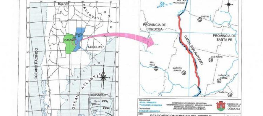 La semana próxima comienzan los trabajos del Canal San Antonio-Tortugas