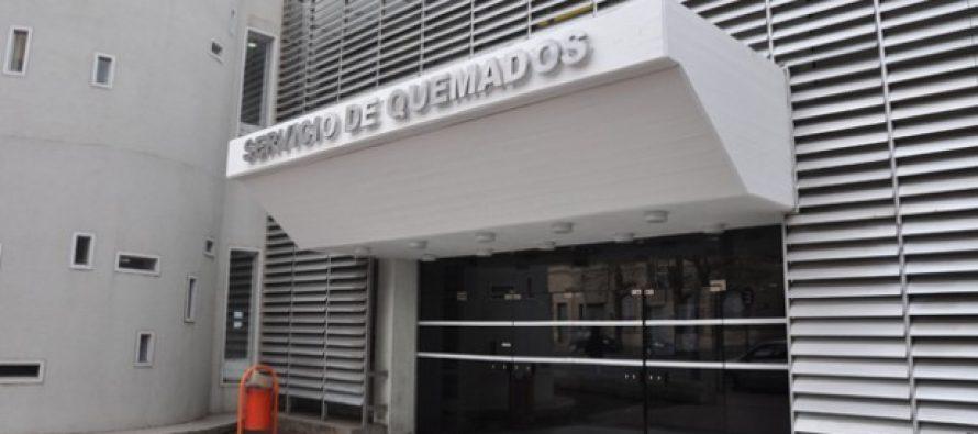 Trasladaron a Córdoba a la joven afectada por un incendio esta madrugada