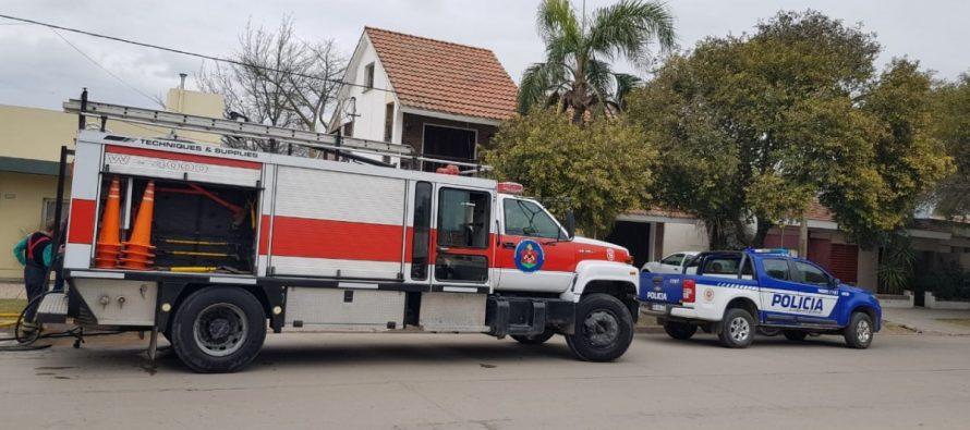 Ardieron  electrodomésticos en una casa de  calle Italia