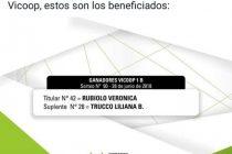 Verónica Rubiolo ganó la Vivienda del Plan Vicoop