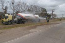 Simulacro de desastre en la planta de gas cooperativo
