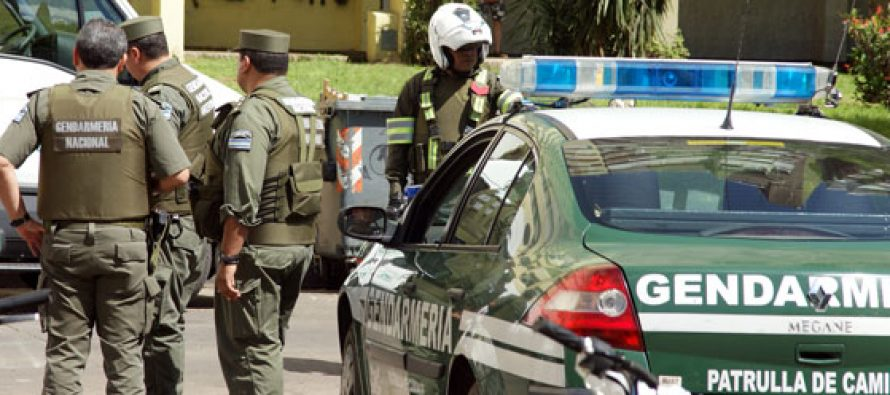 Procedimientos de Gendarmería y la AFIP en Pozo del Molle