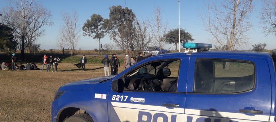 Operativos, incendios y menores al volante en el parte policial