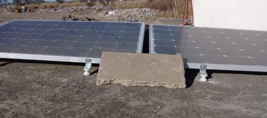 Instalaron paneles solares para iluminar el Basural y evitar actos vandálicos