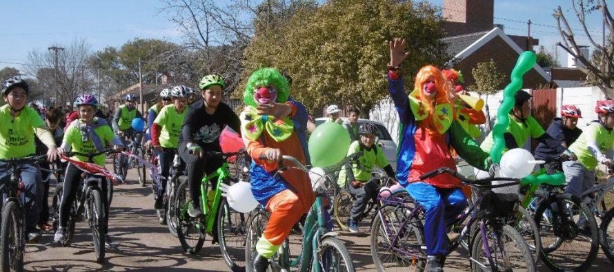 Multitudinaria Bicicleteada Parroquial