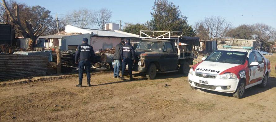 La Policía recuperó 3 toneladas de acero robadas a una empresa local