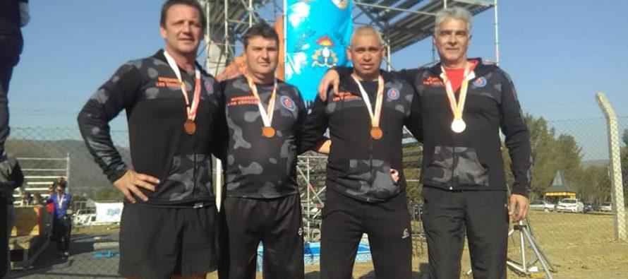 Olimpíadas Bomberiles: destacada actuación del Cuartel de Las Varillas