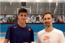 """El """"Cebolla"""" varillense ya practica en el Barça (con Audio)"""