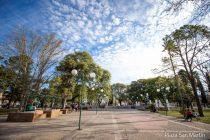 Polémica por los costos para refuncionalizar la plaza San Martín