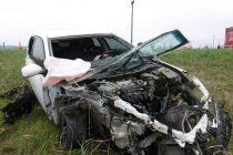 Choque Frontal en Ruta 158