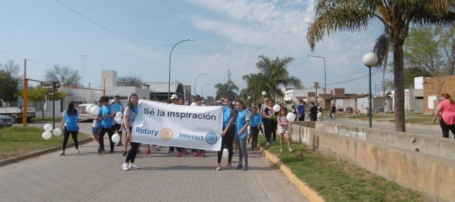 Caminata Solidaria del Rotary Club-Imágenes